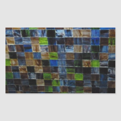 2012-09-09 19.51.12 BLUE GREEN MOSAIC GLASS SQUARE RECTANGLE STICKERS