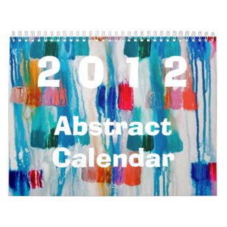 2012 Abstract Calendar