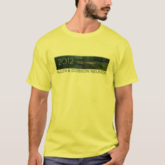 2012 Allen & Dobson Reunion - Pastels T-Shirt