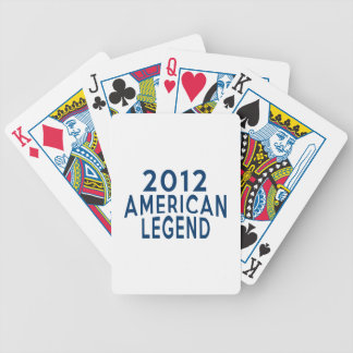 2012 American Legend Birthday Designs Bicycle Playing Cards