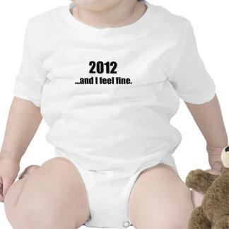 2012...and I Feel Fine! Baby Bodysuits