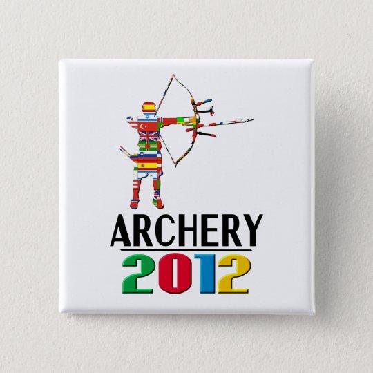 2012: Archery 2 Inch Square Button