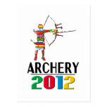 2012: Archery Postcard