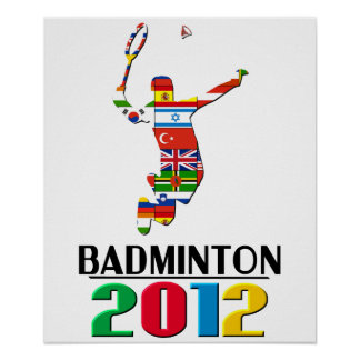 2012: Badminton Poster