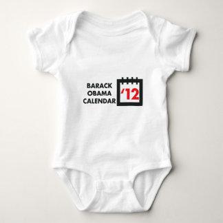 2012 BARACK OBAMA CALENDAR BABY BODYSUIT