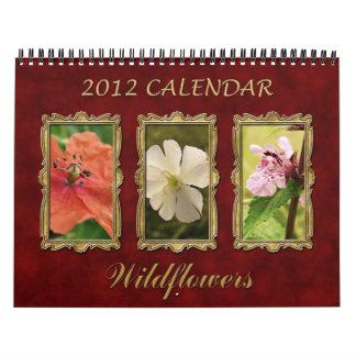 2012 Calendar: Artistic Wildflowers Calendar