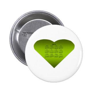 2012 Calendar Button