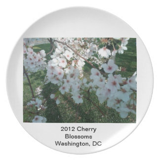 2012 Cherry Blossoms Plates