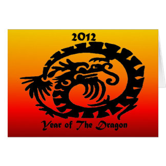 2012 Chinese New Year Dragon Card