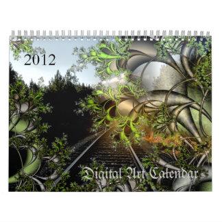 2012 Digital Art calendar