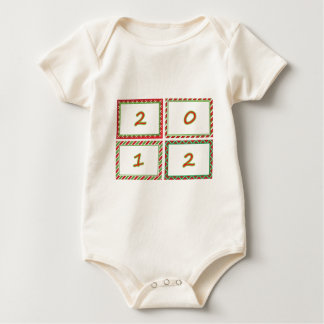 2012 festive New Year frames Rompers