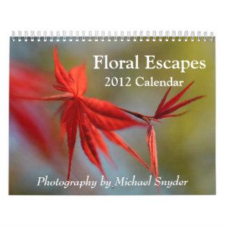 2012 Flower Calendar