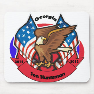 2012 Georgia for Jon Huntsman Mousepad