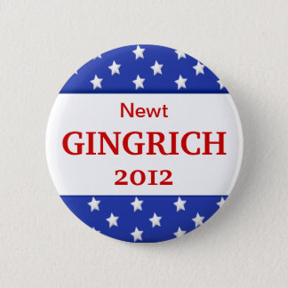 2012  Gingrich Campaign Button