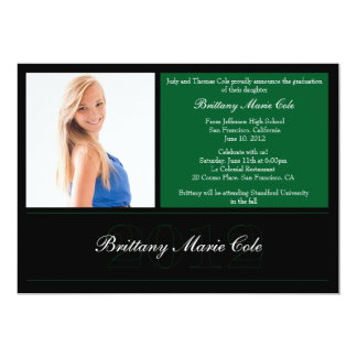 2012 Graduation Announcement