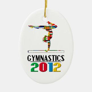 2012: Gymnastics Ornament