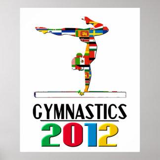 2012 Gymnastics Poster