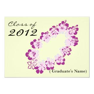 2012 Hawaii Theme Graduation Announcement