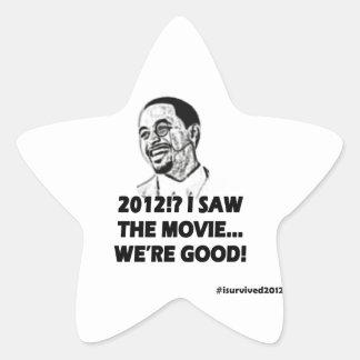 2012 I saw the movie We're good Star Sticker