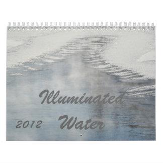 2012 Illuminated Water Calendar