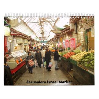 2012 Jerusalem Israel Market Calendar
