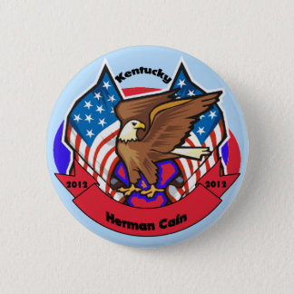 2012 Kentucky for Herman Cain 2 Inch Round Button