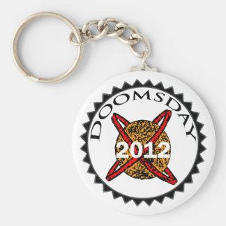 """2012 Keychain """"12/21/2012 Doomsday"""""""