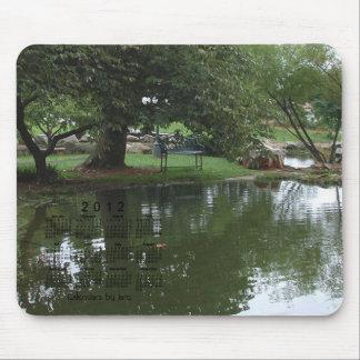 2012 Landscape Calendar Mouse Pad