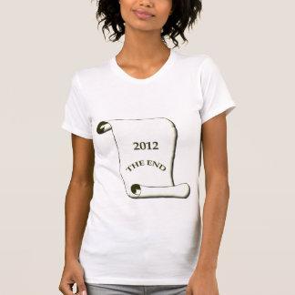 2012 l'extrémité tshirt