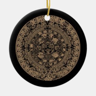 2012 Maya Calendar Ceramic Ornament