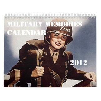 2012 More Military Memories Calendar