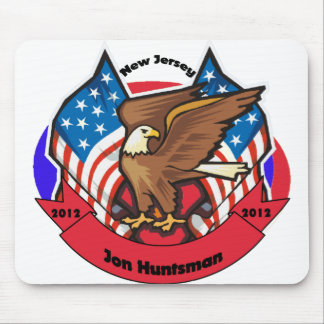 2012 New Jersey for Jon Huntsman Mousepad