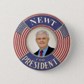 2012 Newt Gingrich Button
