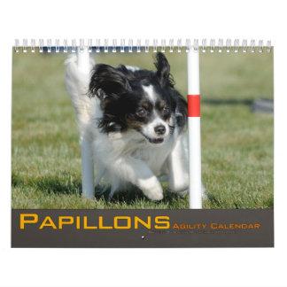 2012 Papillons Agility Calendar