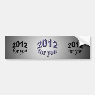 2012 pour vous adhésif pour voiture