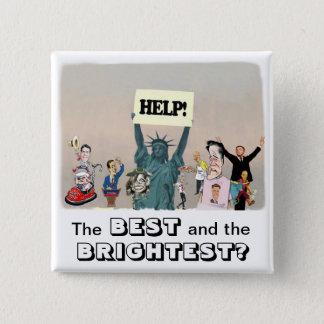 2012 Presidential Campaign 2 Inch Square Button