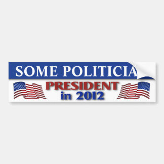 2012 Presidential Election Customizable Bumper Sticker