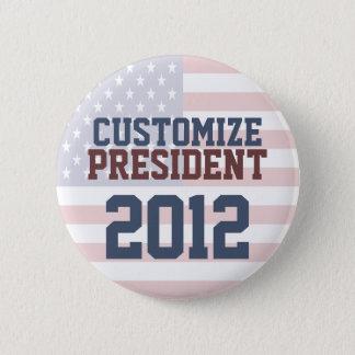 2012 Presidential Election Customizable Button