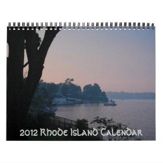 2012 Rhode Island Calendar
