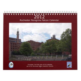 2012 Rochester Peregrine Falcon Calendar