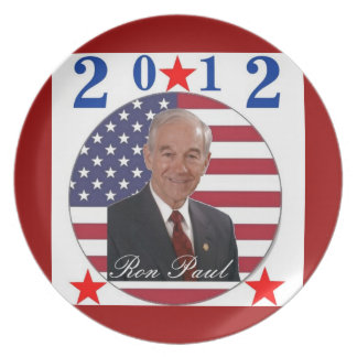 2012 Ron Paul Plate