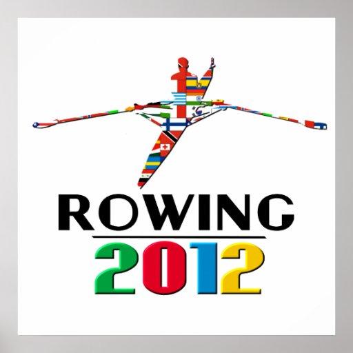 2012: Rowing Print