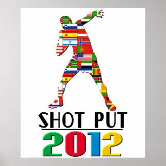 2012: Shot Put Poster