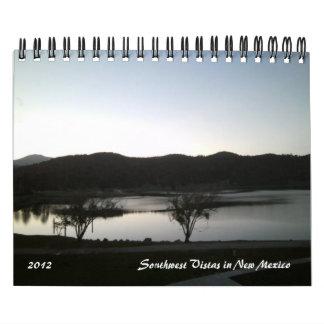 2012 Southwest Vistas in New Mexico Calendar