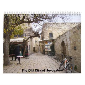 2012 The Old City of Jerusalem Wall Calendars