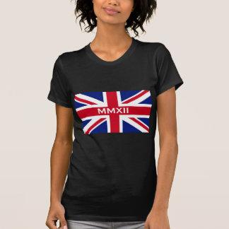 2012 Union Jack flag of Britain T-shirt