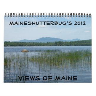 2012 Views of Maine Calendar