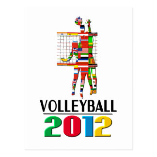 2012: Volleyball Postcard