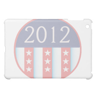 2012 Vote Election Round Seal Red Blue faded Case For The iPad Mini