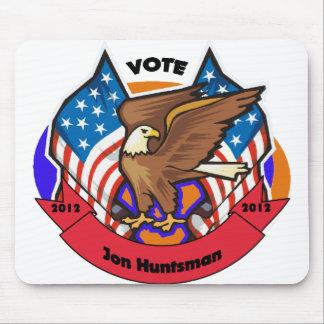 2012 Vote for Jon Huntsman Mouse Pad